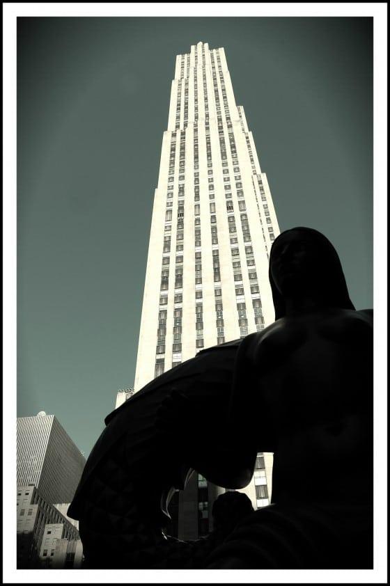 """Edificio """"GE"""", la torre más alta del Rockefeller Center"""