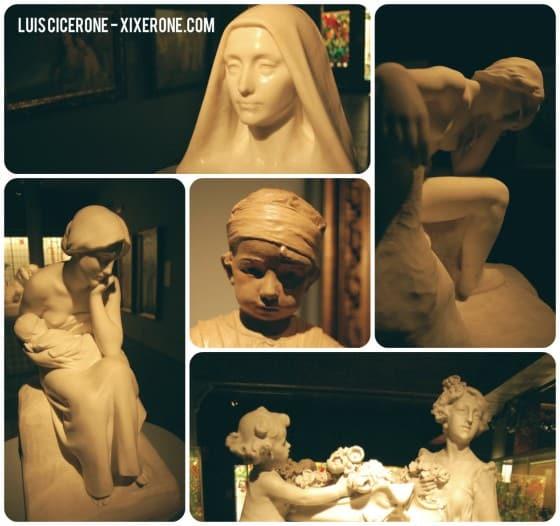 Esculturas del Museu del Modernisme