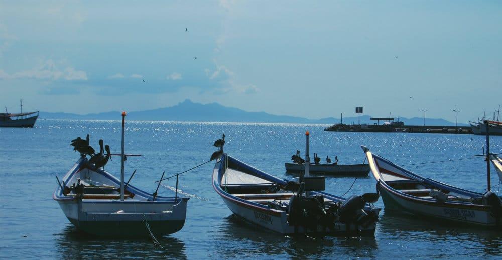 Barcas de pescadores en Juangriego