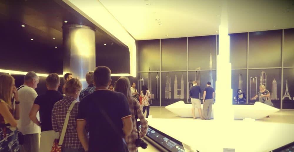 Entrada Burj Khalifa