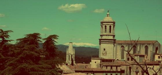 Catedral de Girona y Pirineos