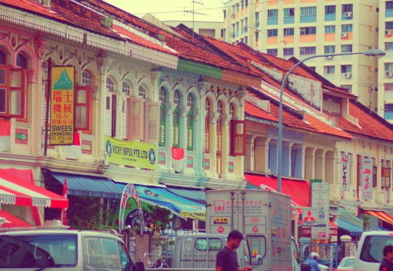 Calle del Chinatown de Singapur