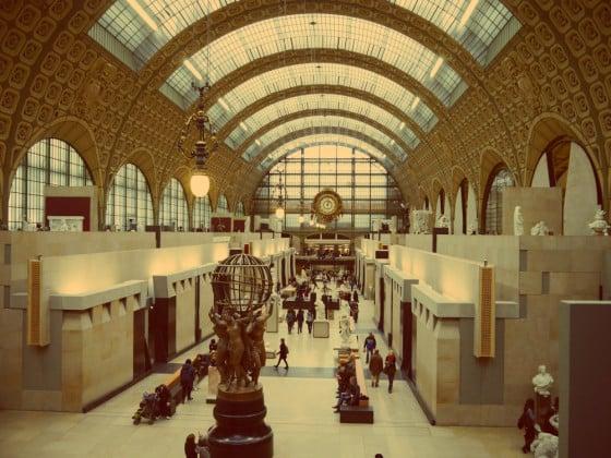 Hall principal Museo de Orsay