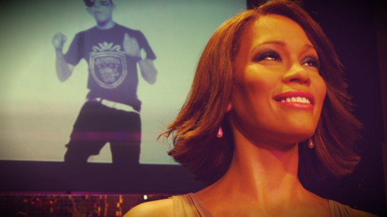 Whitney Houston en el Madame Tussauds