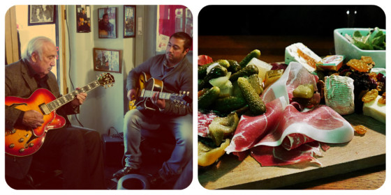 Música y comida en Las Pulgas