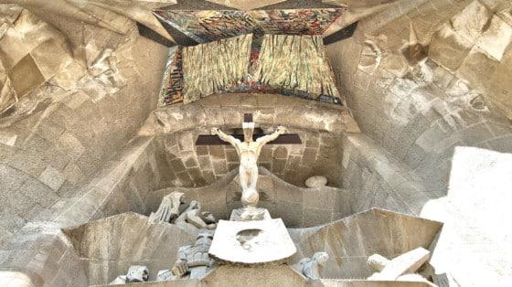 Sagrada Familia - Crucifixión