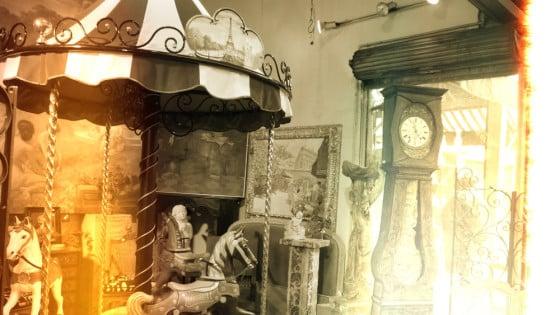 Tiovivos y relojes
