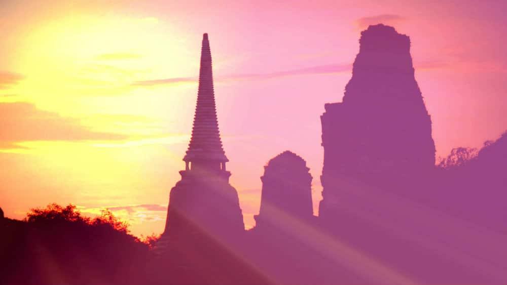 Atardecer Ayutthaya