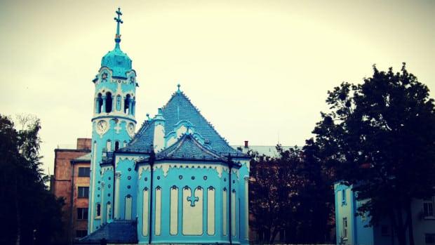 Iglesia Azul de Bratislava