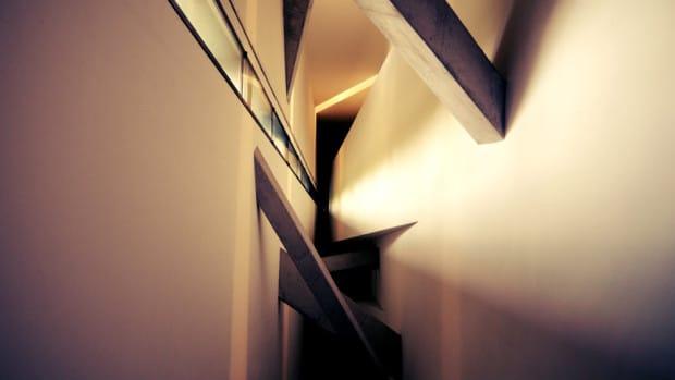 Arquitectura interior del Museo Judío de Berlín