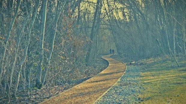 Caminando por las vías