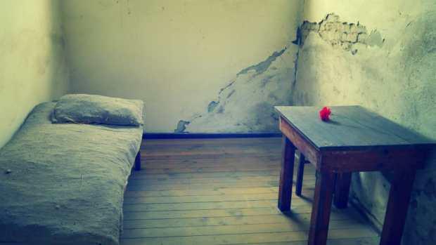 Celda de la carcel del Campo de Concentración - Berlín