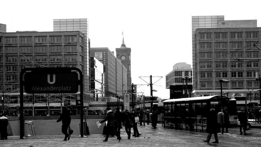 Alexanderplatz - Centro de Berlín