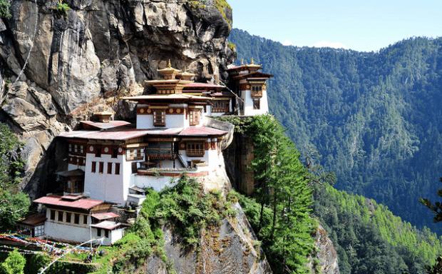 Templo del Nido del Tigre, Bután
