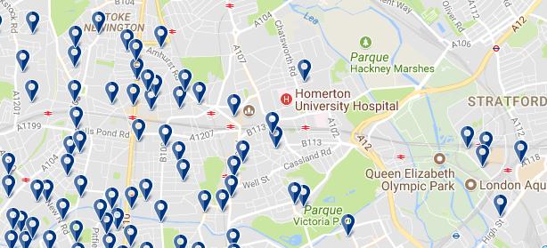 Hackney - Haz clic para ver todos los hoteles en esta zona