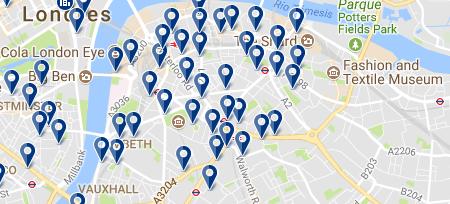Southwark - Haz clic para ver todos los hoteles en esta zona