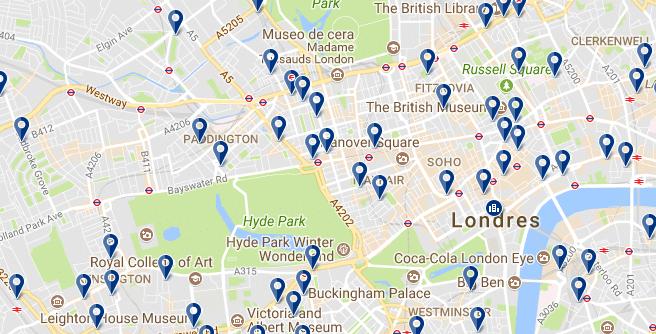 Londres - Westminster - Haz clic para ver todos los hoteles en esta zona