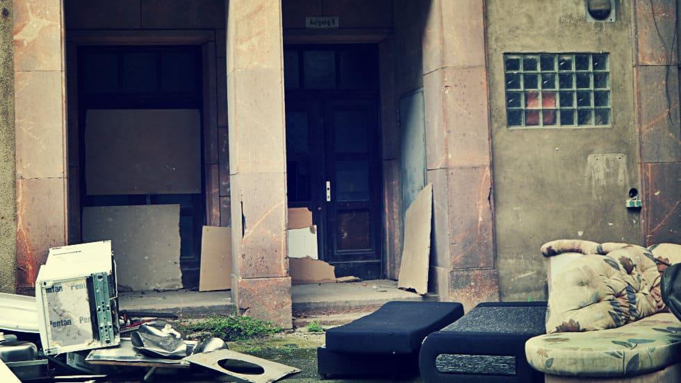 Muebles abandonados