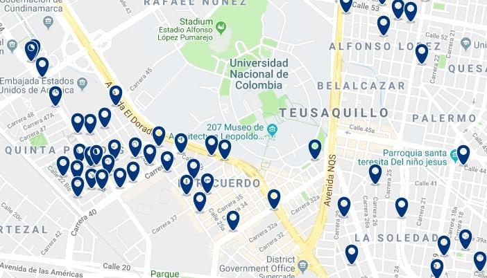 Bogotá - Teusaquillo - Haz clic para ver todos los hoteles en un mapa