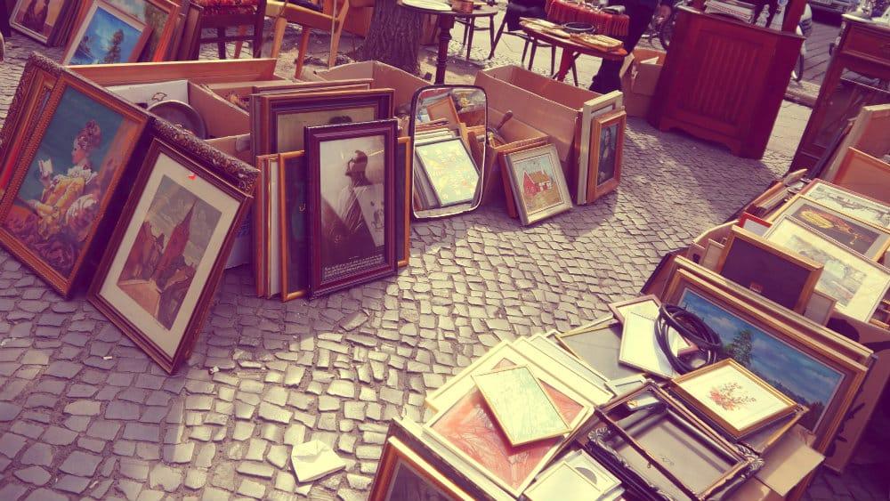 Mercado vintage Boxhagener Platz