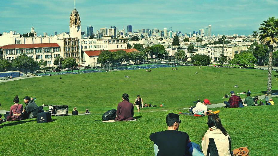 Cosas para hacer en San Francisco - Dolores Park