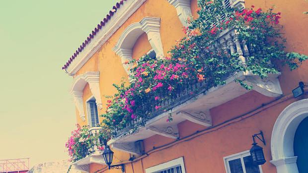 Balcón del casco antiguo