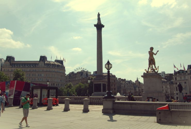 Centro de Londres - Trafalgar Square