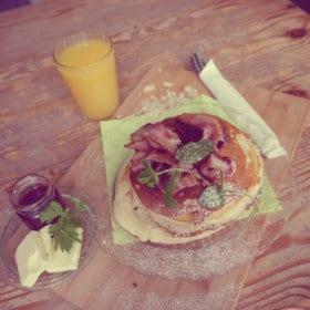 Desayuno en Weranda Cafe