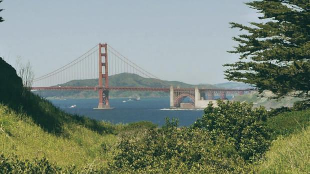 Golden Gate Bridge desde Lands End