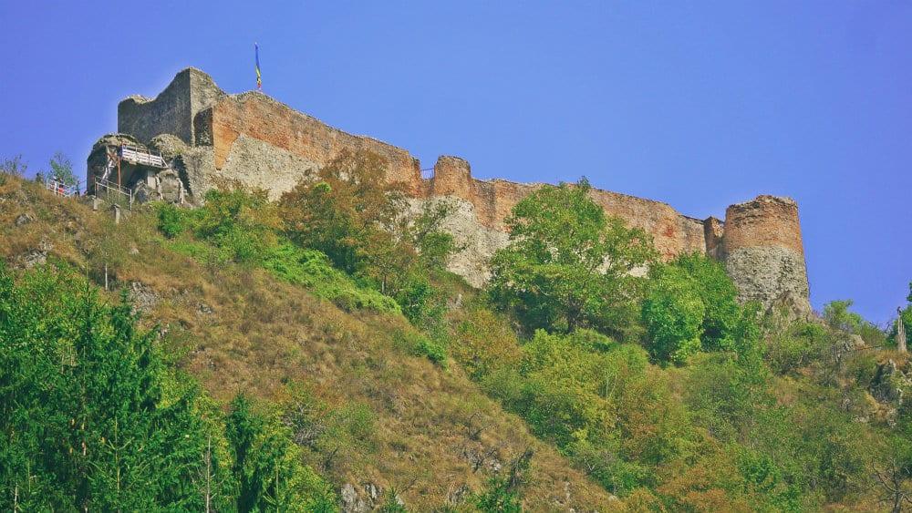 Castillo de Poienari, dónde vivió Drácula