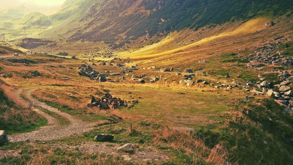 Senderos de montañismo en Transfagaras