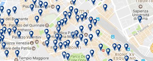 Hoteles baratos en Roma - Termini