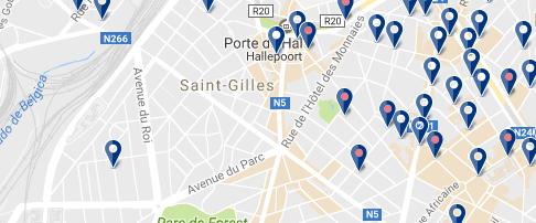 Alojarse en St Gilles - Bruselas