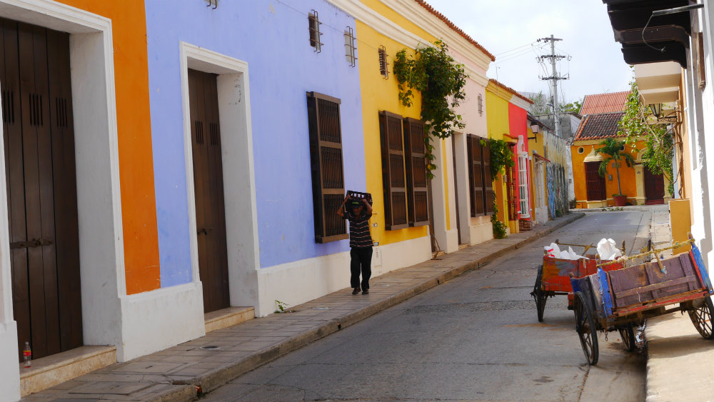 Mejores zonas donde dormir en Cartagena, Colombia - Getsemaní