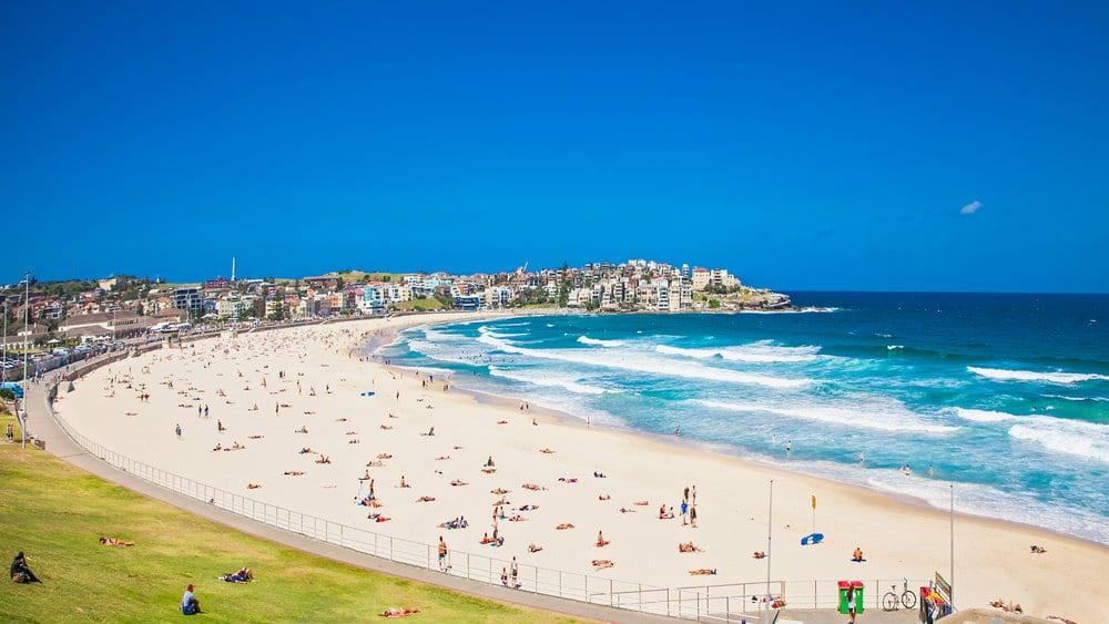 Mejores zonas para alojarse en Sydney - Bondi Beach
