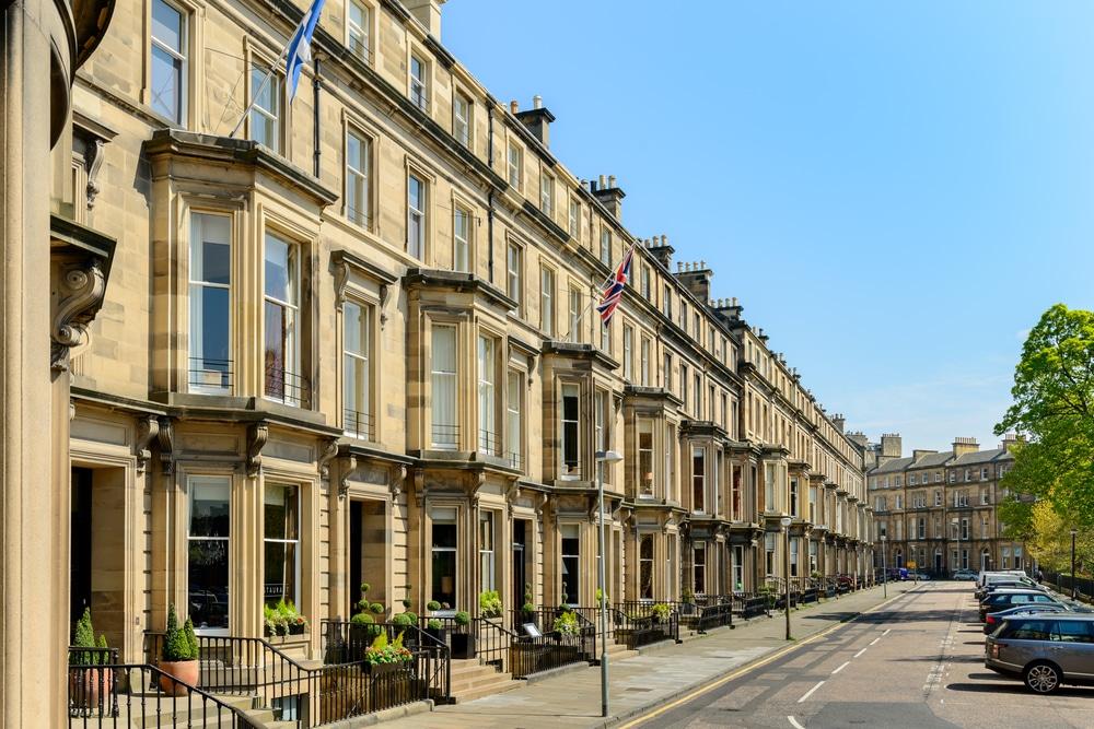 West End - Dónde alojarse en Edimburgo