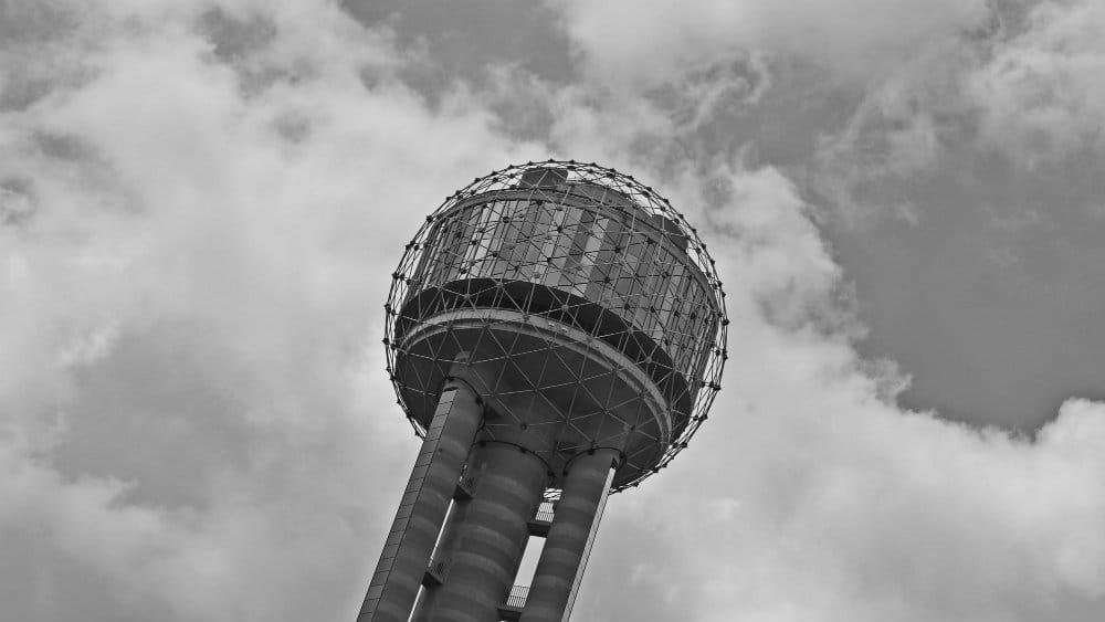 Esfera de observación de la Reunion Tower