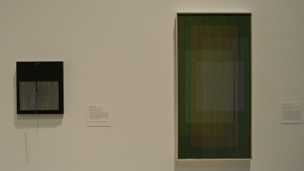 Cinéticos venezolanos Carlos Cruz Diez y Jesús Soto en la colección de arte contemporáneo latinoamericano