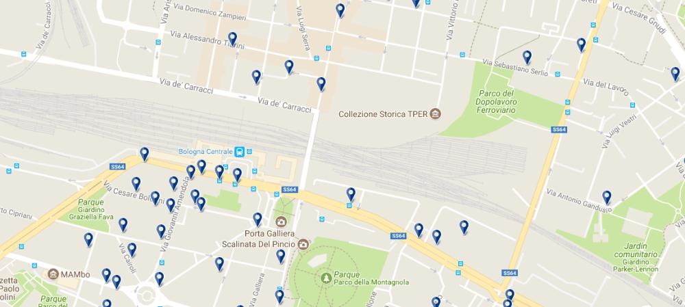 Bologna Centrale - Haz clic para ver todos los hoteles en esta zona