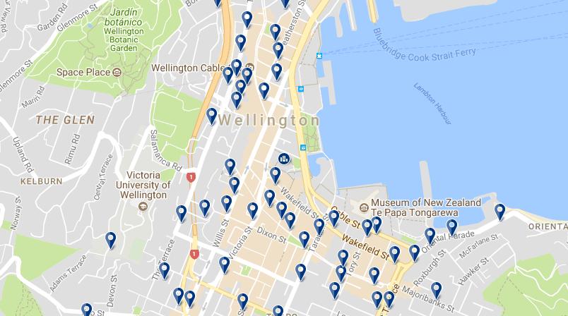 Wellington CBD - Haz clic para ver todos los hoteles en esta zona