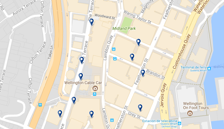 Wellington Lambton Quay - Haz clic para ver todos los hoteles en esta zona