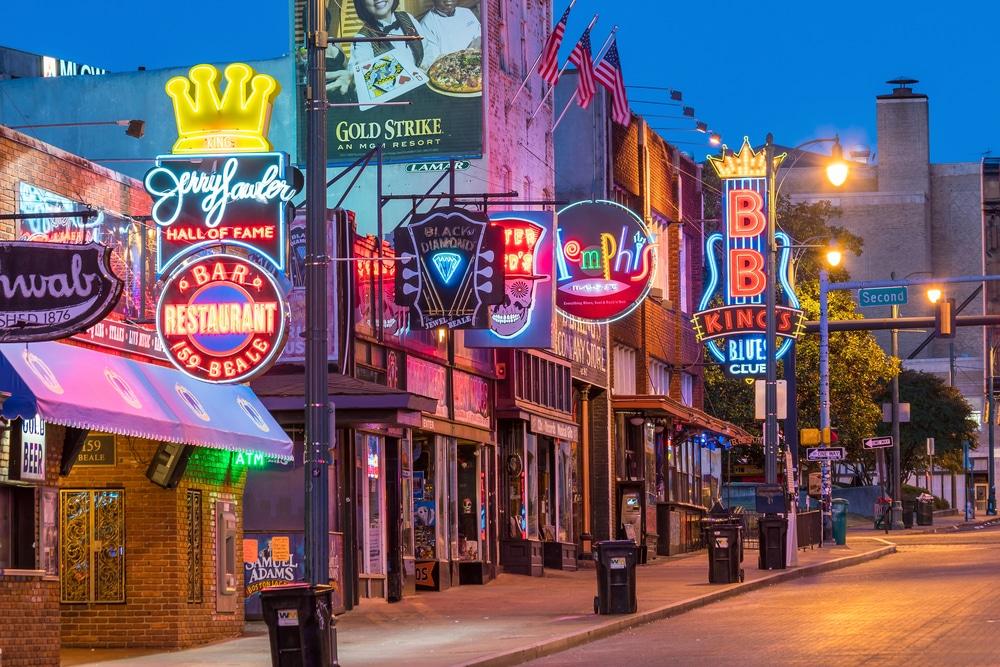 Beale Street - Qué ver en Memphis