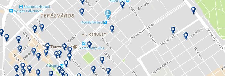 Budapest Centro (Av Andrassy) - Haz clic para ver todos los hoteles en esta zona