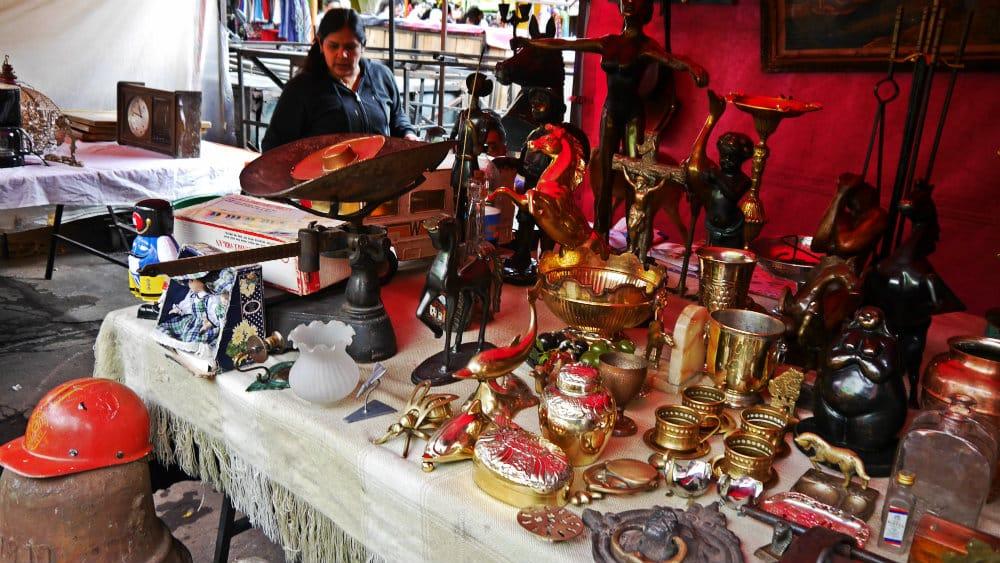 Mercado de las Pulgas de San Alejo - Bogotá