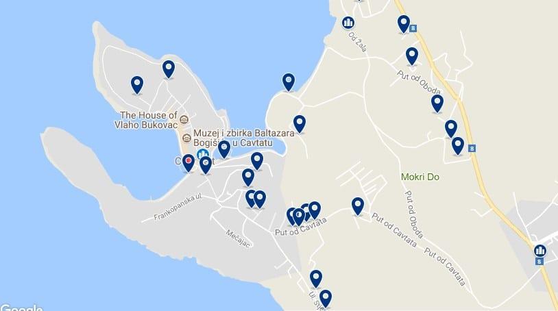 Dubrovnik - Cavtat - Haz clic para ver todos los hoteles en un mapa