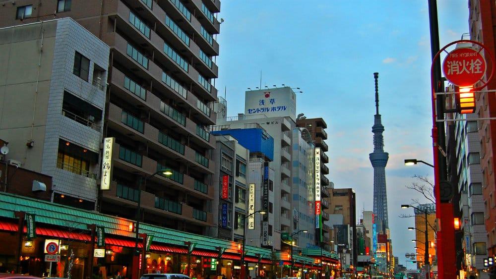 Mejores distritos para alojarse en Tokio - Sumida