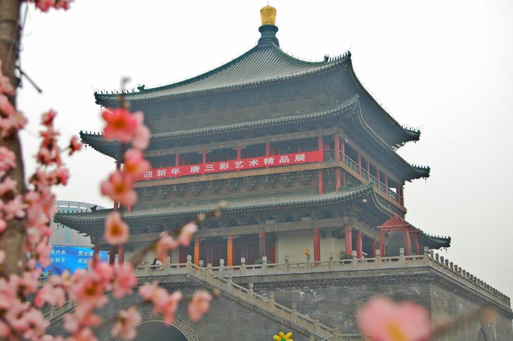 Qué ver en Xi'an - Torre de la Campana