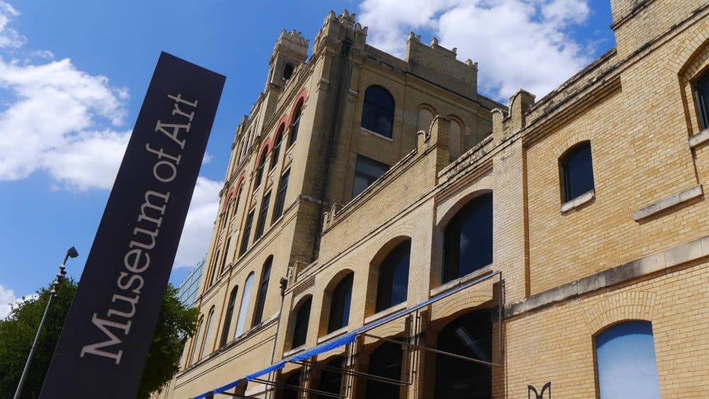 Visita al San Antonio Museum of Art, Texas