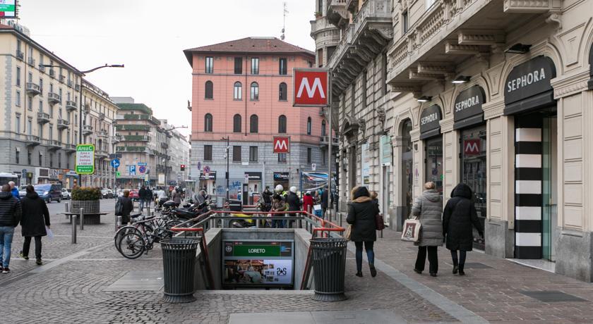 Loreto - Dónde dormir en Milán