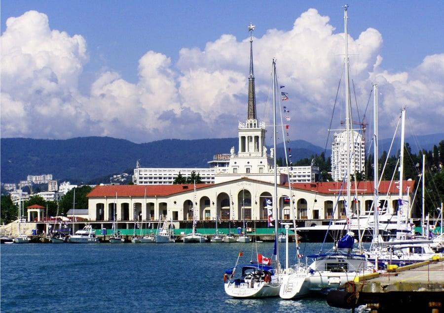 Mejores zonas donde dormir en Sochi - Puerto